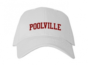 Poolville High School Kid Embroidered Baseball Caps