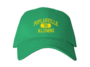 Poplarville High School Embroidered Baseball Caps
