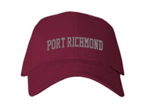 Port Richmond High School Kid Embroidered Baseball Caps