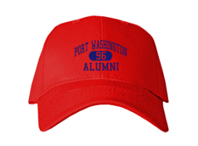 Port Washington Elementary School Embroidered Baseball Caps