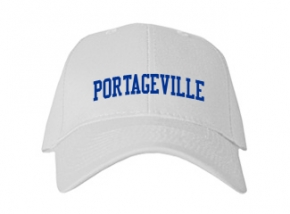 Portageville High School Kid Embroidered Baseball Caps