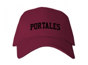 Portales High School Kid Embroidered Baseball Caps