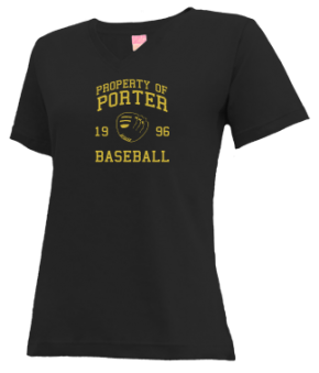 Porter High School V-neck Shirts