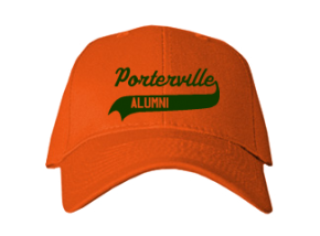 Porterville High School Embroidered Baseball Caps
