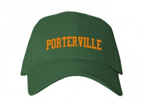 Porterville High School Kid Embroidered Baseball Caps