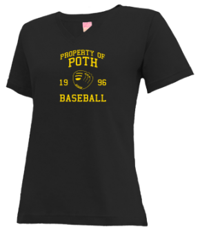 Poth High School V-neck Shirts
