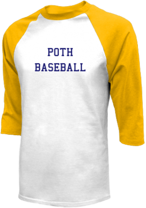 Poth High School Raglan Shirts