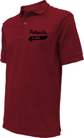 Pottsville High School Embroidered Polo Shirts