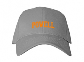 Powell High School Kid Embroidered Baseball Caps