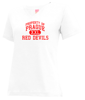 Prague Elementary School V-neck Shirts