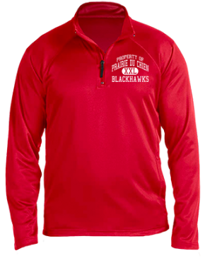Prairie Du Chien High School Stretch Tech-Shell Compass Quarter Zip