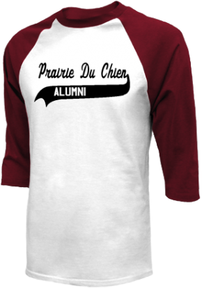 Prairie Du Chien High School Raglan Shirts