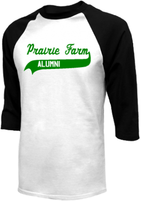 Prairie Farm High School Raglan Shirts