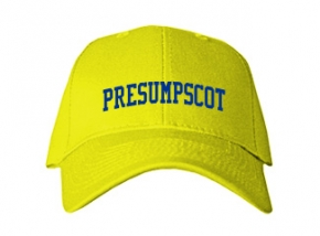 Presumpscot Elementary School Kid Embroidered Baseball Caps