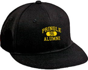 Pringle Elementary School Flat Visor Caps