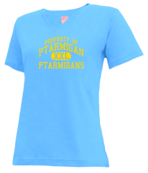 Ptarmigan Elementary School V-neck Shirts