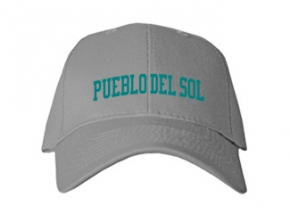 Pueblo Del Sol Middle School Kid Embroidered Baseball Caps