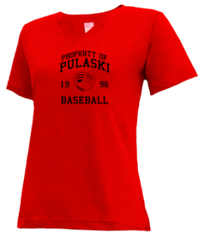 Pulaski High School V-neck Shirts