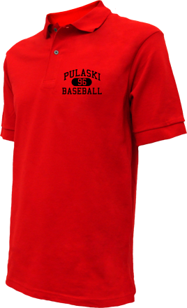 Pulaski High School Embroidered Polo Shirts