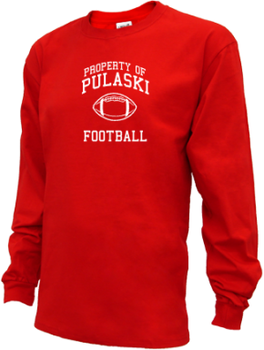 Pulaski Middle School Kid Long Sleeve Shirts