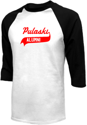 Pulaski Middle School Raglan Shirts