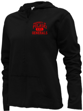 Pulaski Middle School Girls Zipper Hoodies