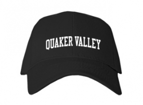Quaker Valley High School Kid Embroidered Baseball Caps