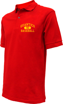 Quantico High School Embroidered Polo Shirts