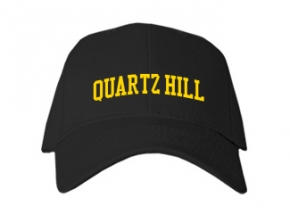 Quartz Hill High School Kid Embroidered Baseball Caps
