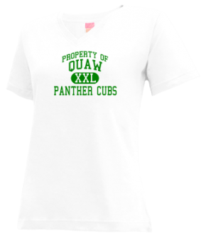 Quaw Elementary School V-neck Shirts