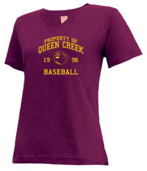 Queen Creek High School V-neck Shirts