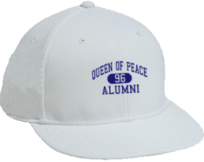 Queen Of Peace School Flat Visor Caps