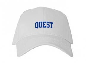 Quest High School Kid Embroidered Baseball Caps
