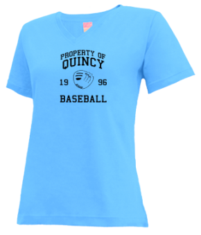 Quincy High School V-neck Shirts