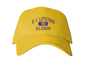 R C Lipscomb Elementary School Embroidered Baseball Caps