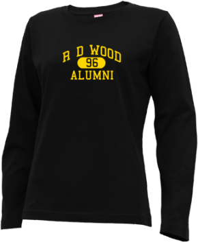 R D Wood Elementary School Long Sleeve Shirts
