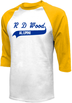 R D Wood Elementary School Raglan Shirts