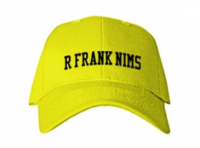R Frank Nims Middle School Kid Embroidered Baseball Caps