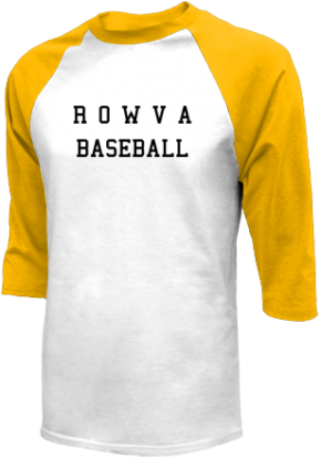 R O W V A High School Raglan Shirts