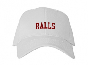 Ralls High School Kid Embroidered Baseball Caps