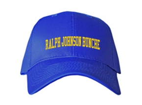 Ralph Johnson Bunche Middle School Kid Embroidered Baseball Caps