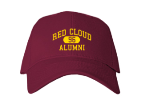 Red Cloud High School Embroidered Baseball Caps