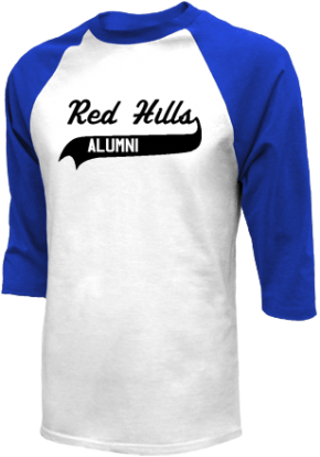 Red Hills Middle School Raglan Shirts