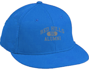 Red Hills Middle School Flat Visor Caps