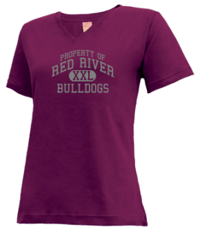 Red River High School V-neck Shirts