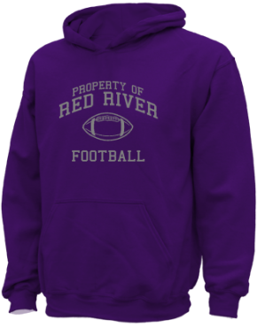 Red River High School Kid Hooded Sweatshirts