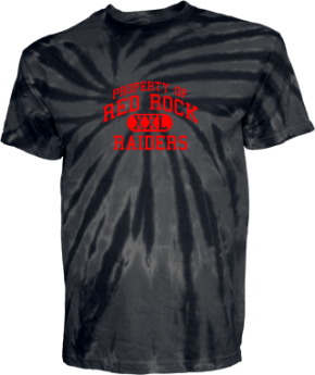 Red Rock Elementary School Kid Tie-dye T-Shirts