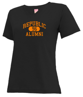 Republic High School V-neck Shirts