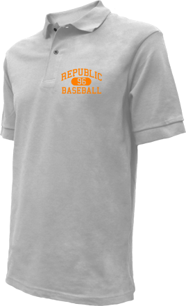 Republic High School Embroidered Polo Shirts