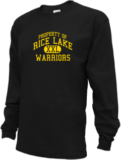Rice Lake High School Kid Long Sleeve Shirts